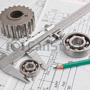 mechanical-drawing-and-pinion-picture_csp6461571